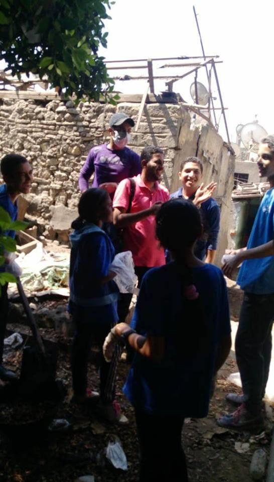 حملة لتنظيف المواقع الأثرية (2)
