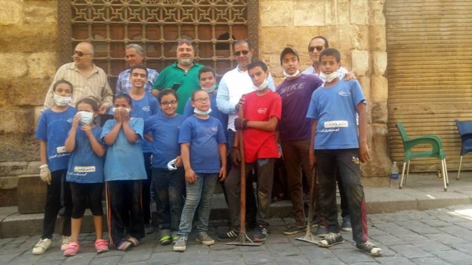 حملة لتنظيف المواقع الأثرية (1)
