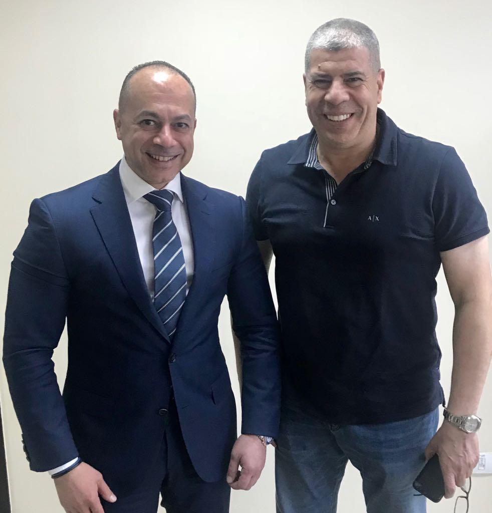 أحمد شوبير وتامر مرسى