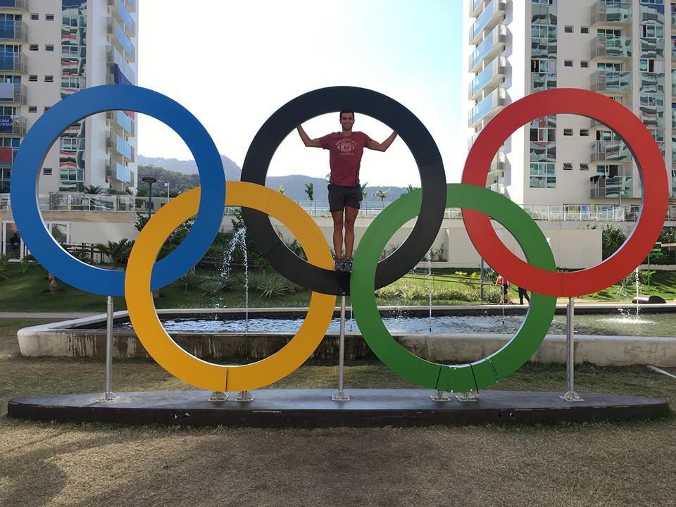 مروان القماش فى أولمبياد البرازيل
