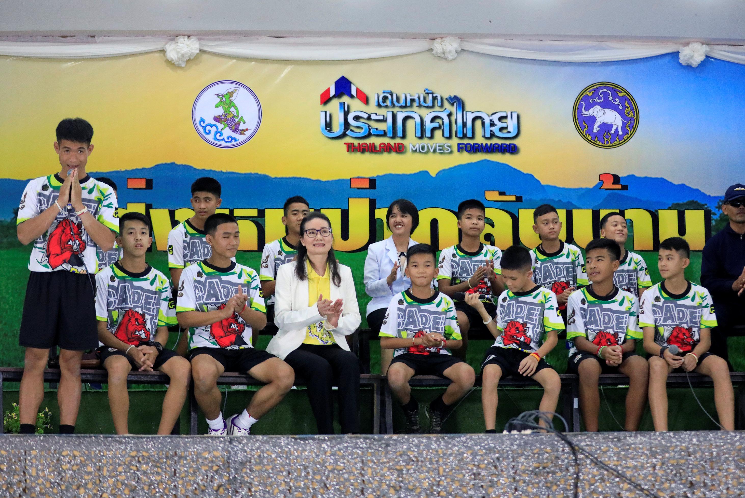 أطفال كهف تايلاند