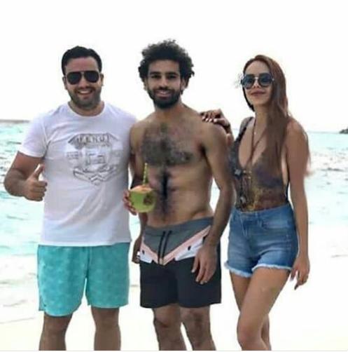 محمد صلاح فى المالديف