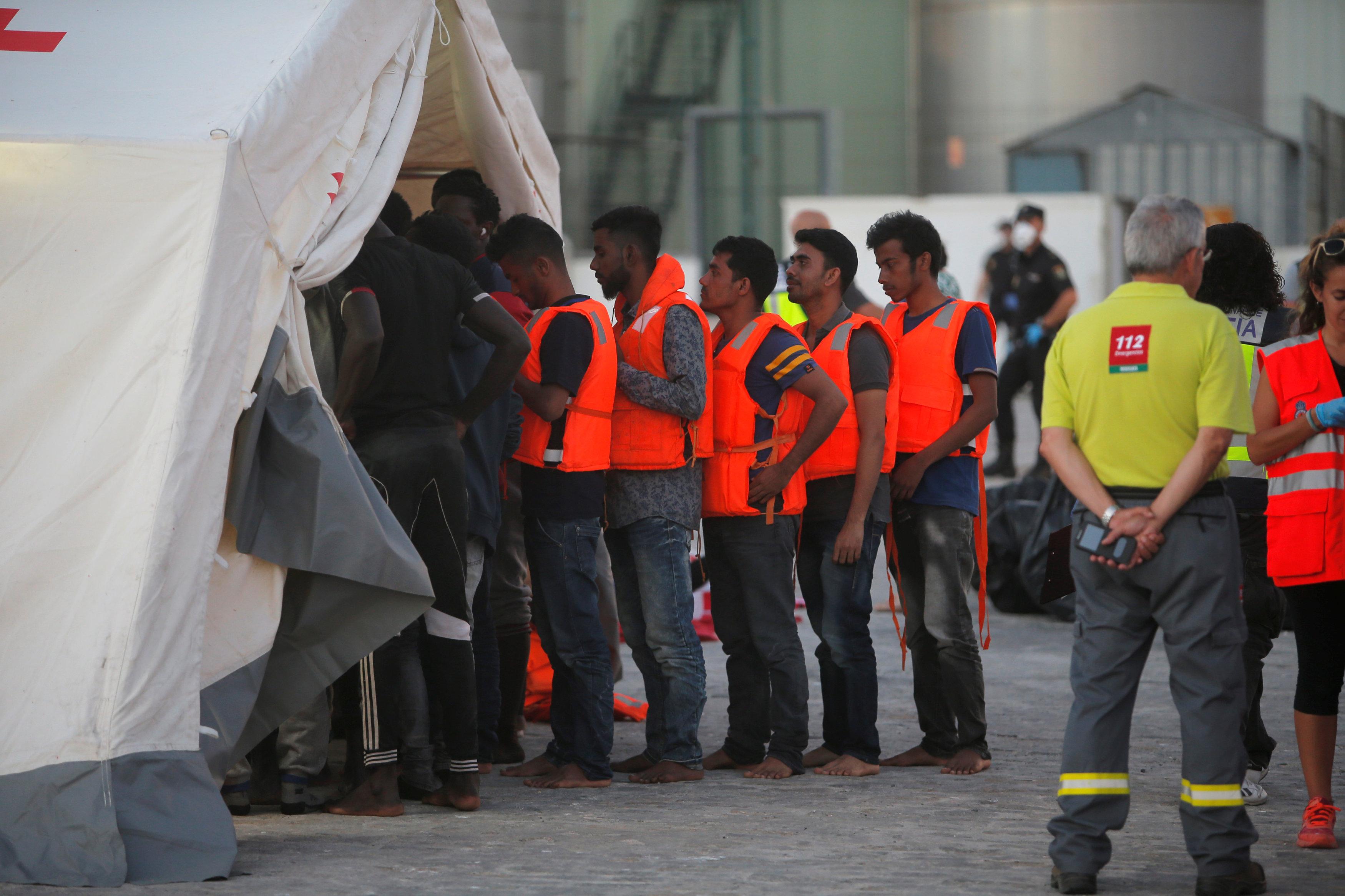 مركز احتجاز المهاجرين