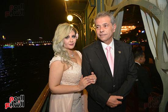صور زفاف توفيق عكاشة و حياة الدرديرى  (13)
