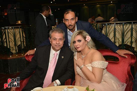 صور زفاف توفيق عكاشة و حياة الدرديرى  (14)