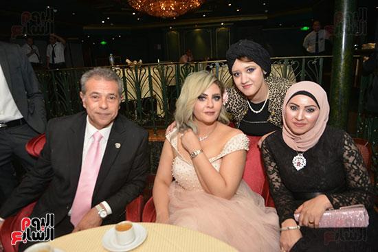 صور زفاف توفيق عكاشة و حياة الدرديرى  (1)