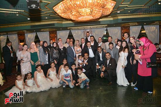 صور زفاف توفيق عكاشة و حياة الدرديرى  (17)