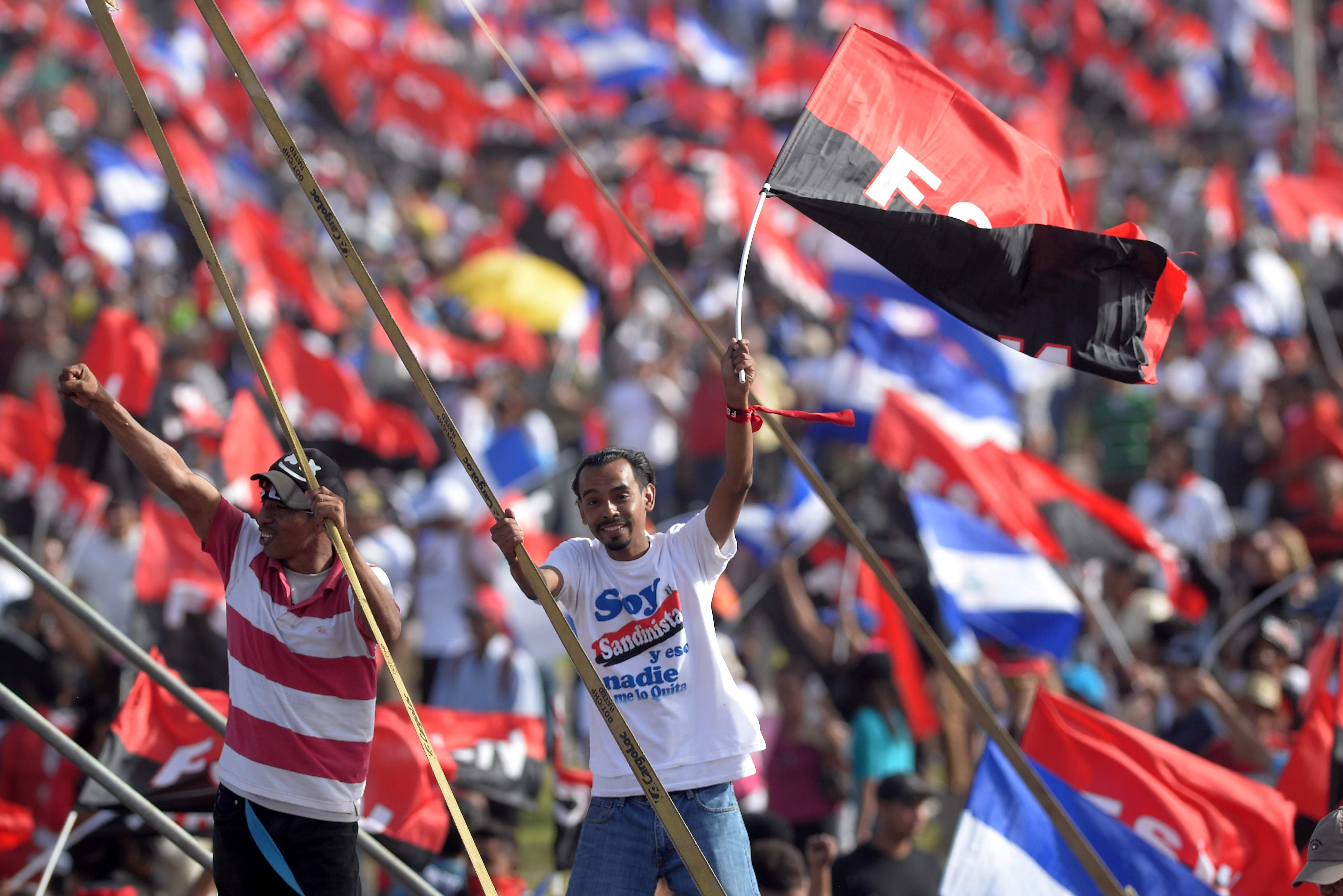 احتفالات نيكاراجوا