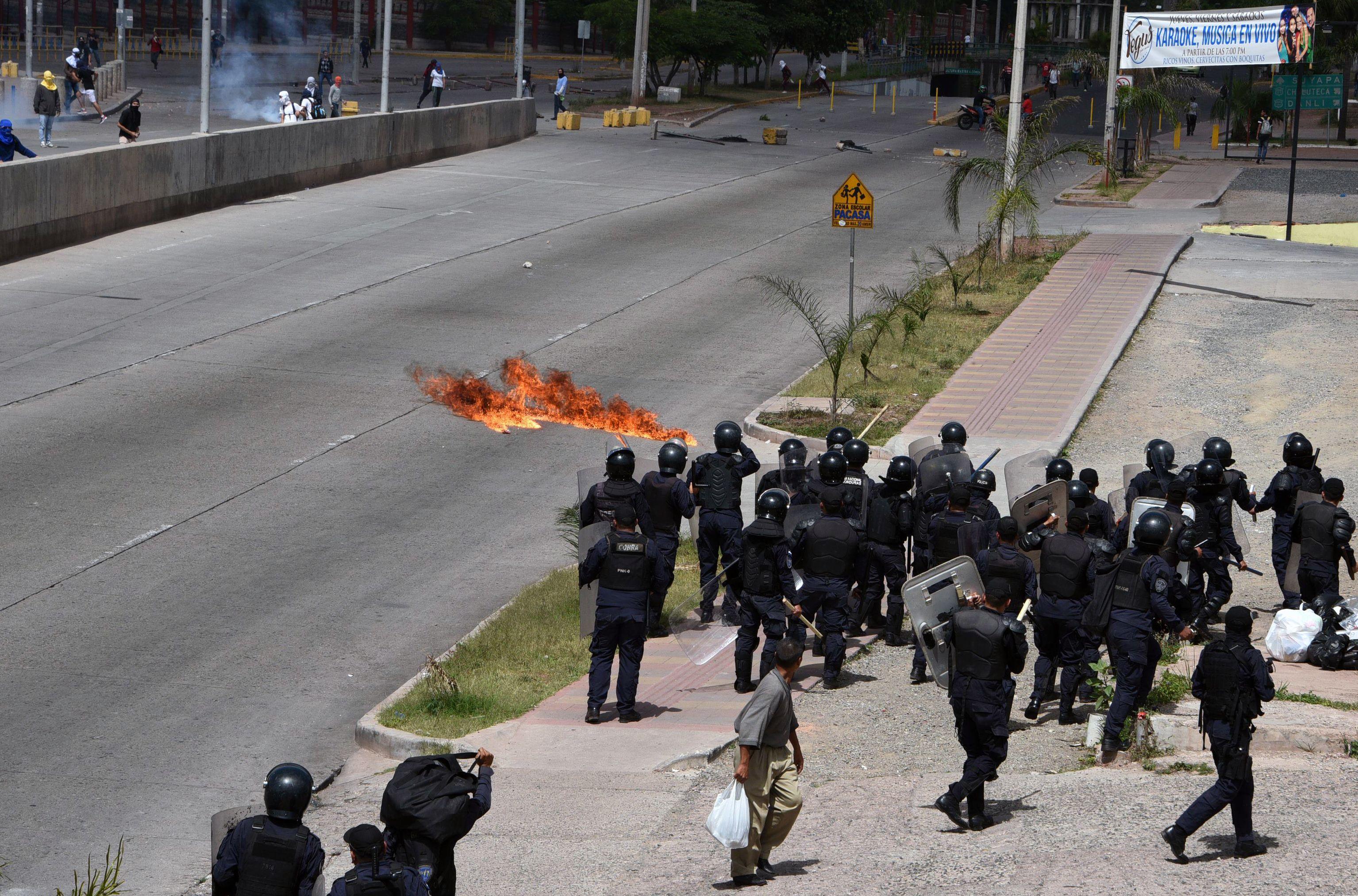 تجمعات الشرطة