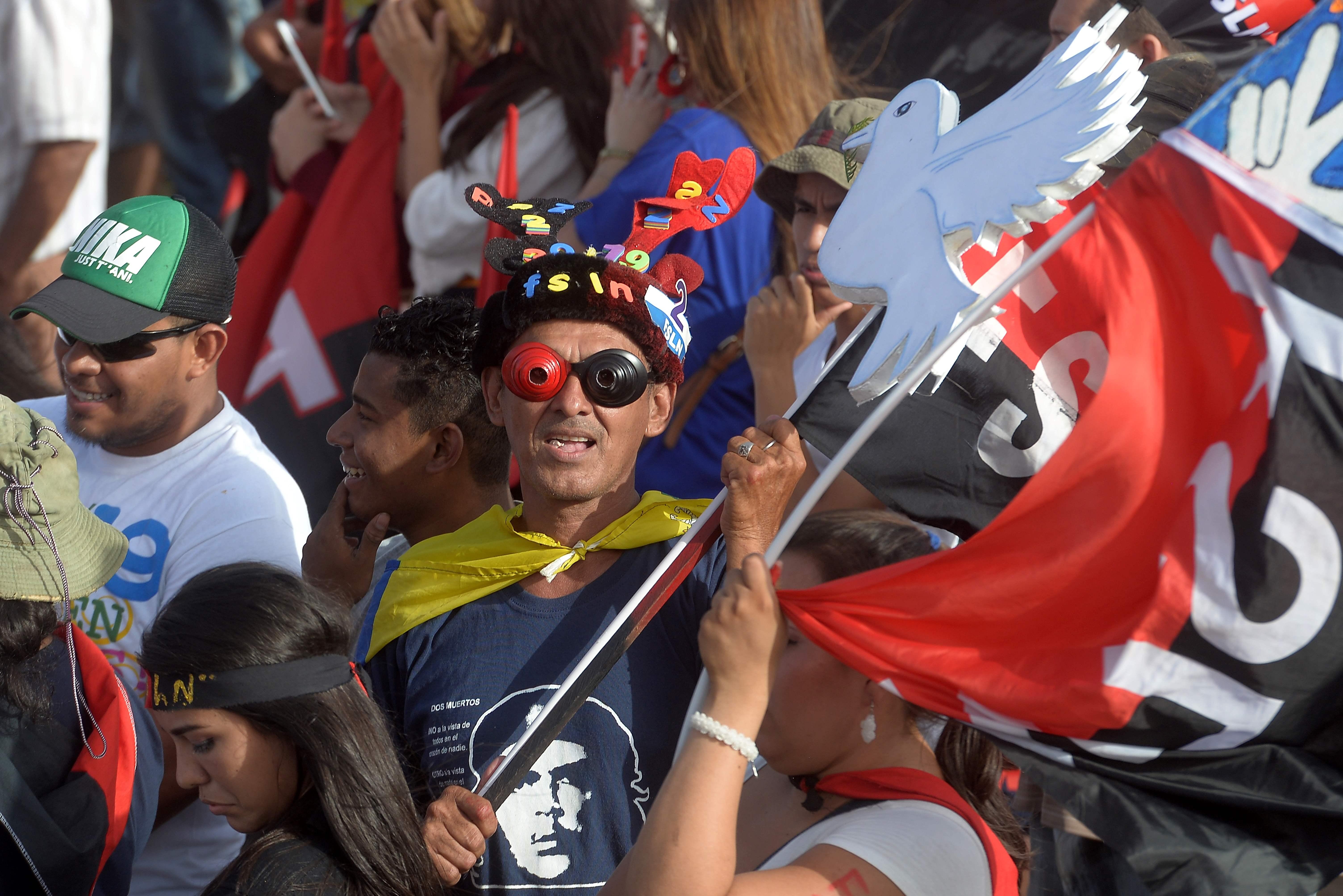 مؤيدى رئيس نيكاراجوا