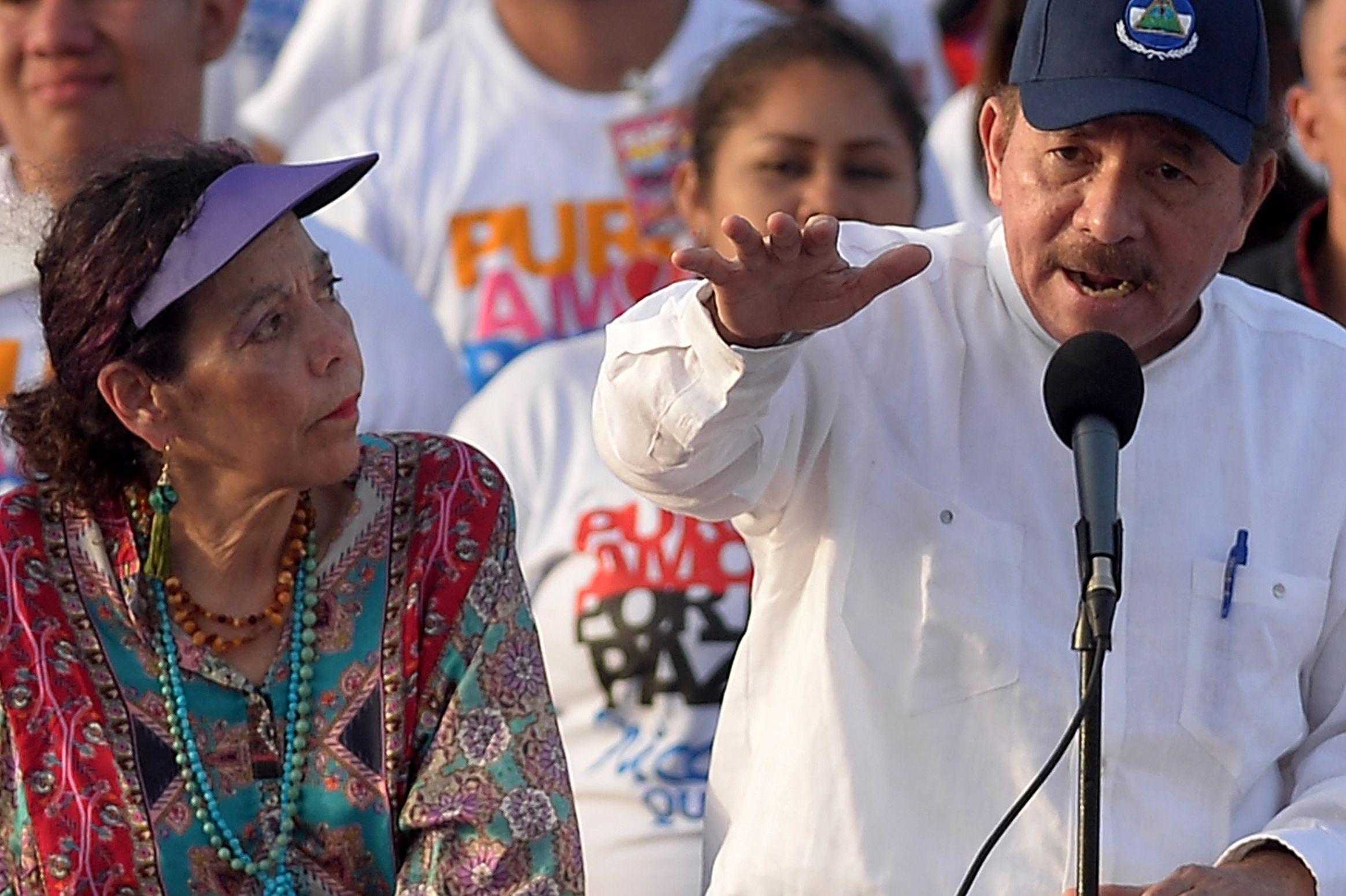 رئيس نيكاراجوا دانييل أورتيجا