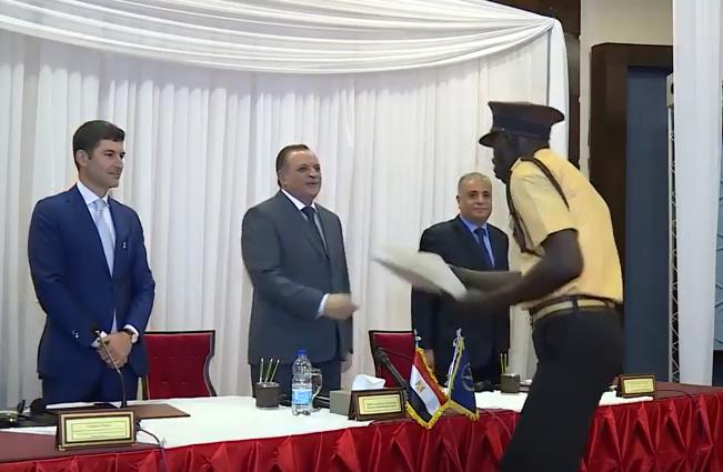 تكريم الكوادر الأمنية الأفريقية