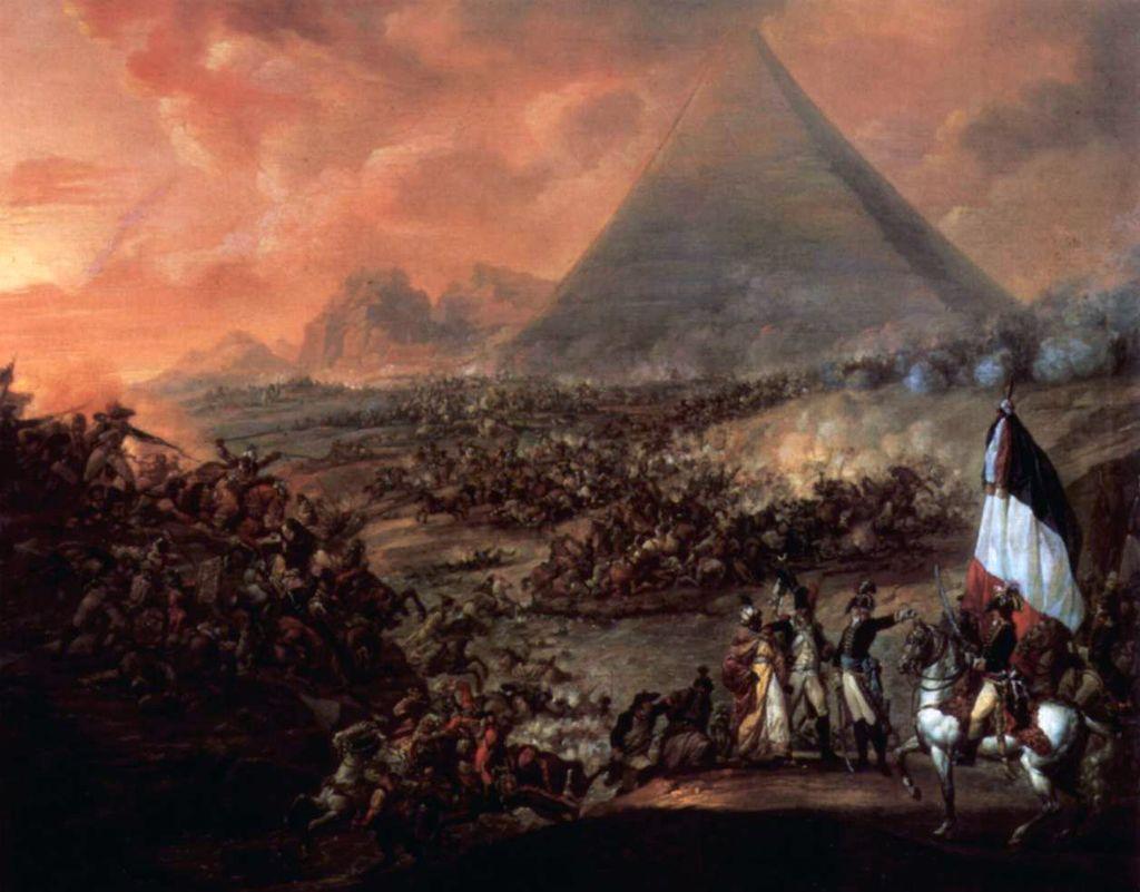 معركة إمبابة.. المماليك: هل من مبارز؟.. والفرنسيون يطلقون النار ...