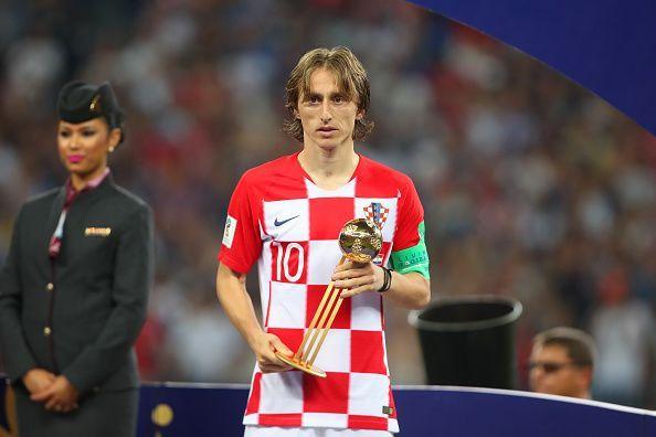 مودريتش أفضل لاعب فى كأس العالم