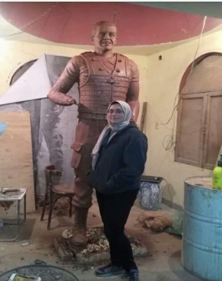 ناحت تمثال الشهيد المنسى (1)