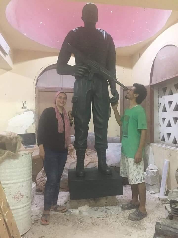 ناحت تمثال الشهيد المنسى (5)