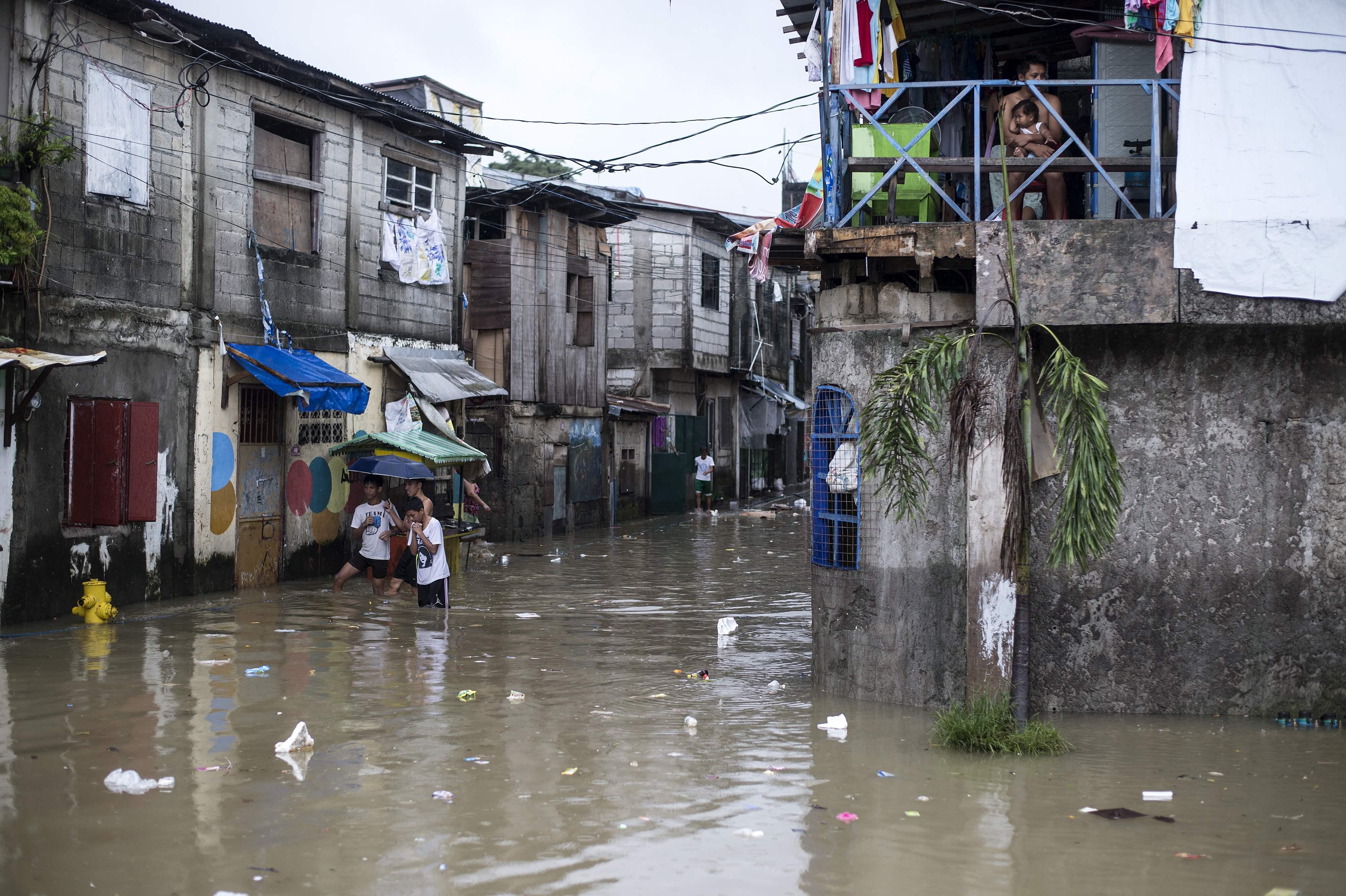 فيضانات فى الفلبين
