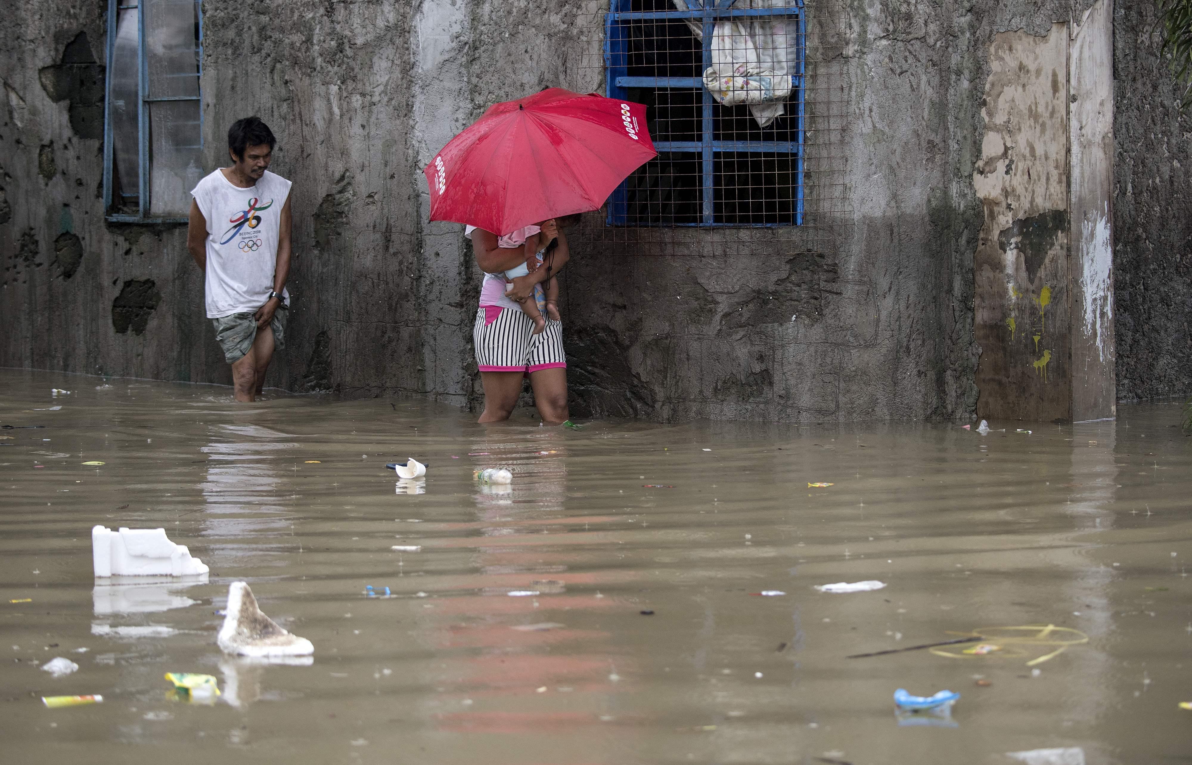 أمطار غزيرة فى الفلبين