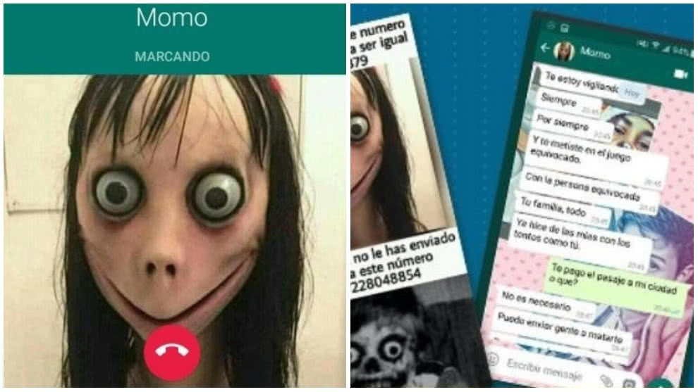 Momo Whatsapp Chat