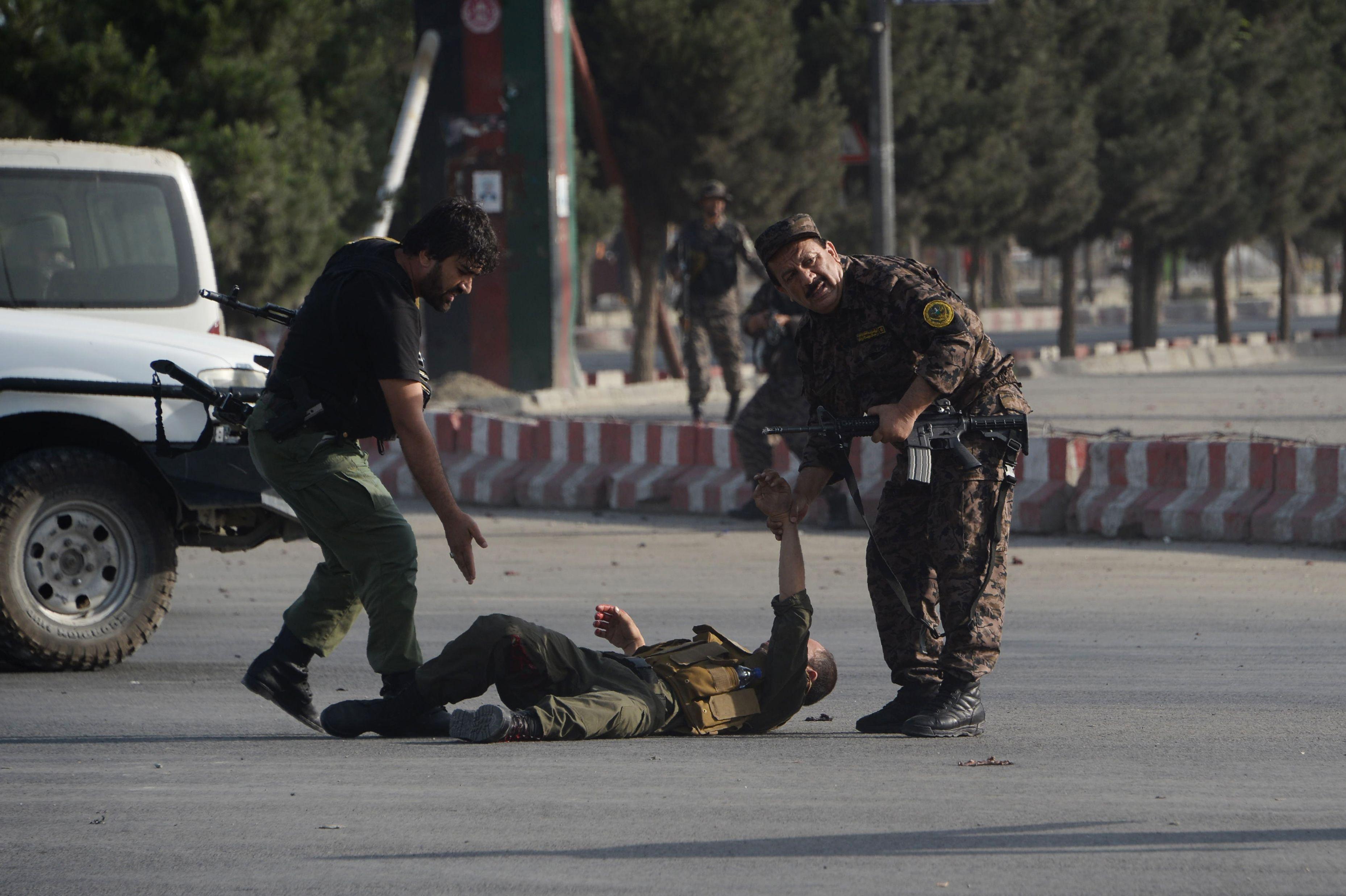 قوات الجيش الافغانى