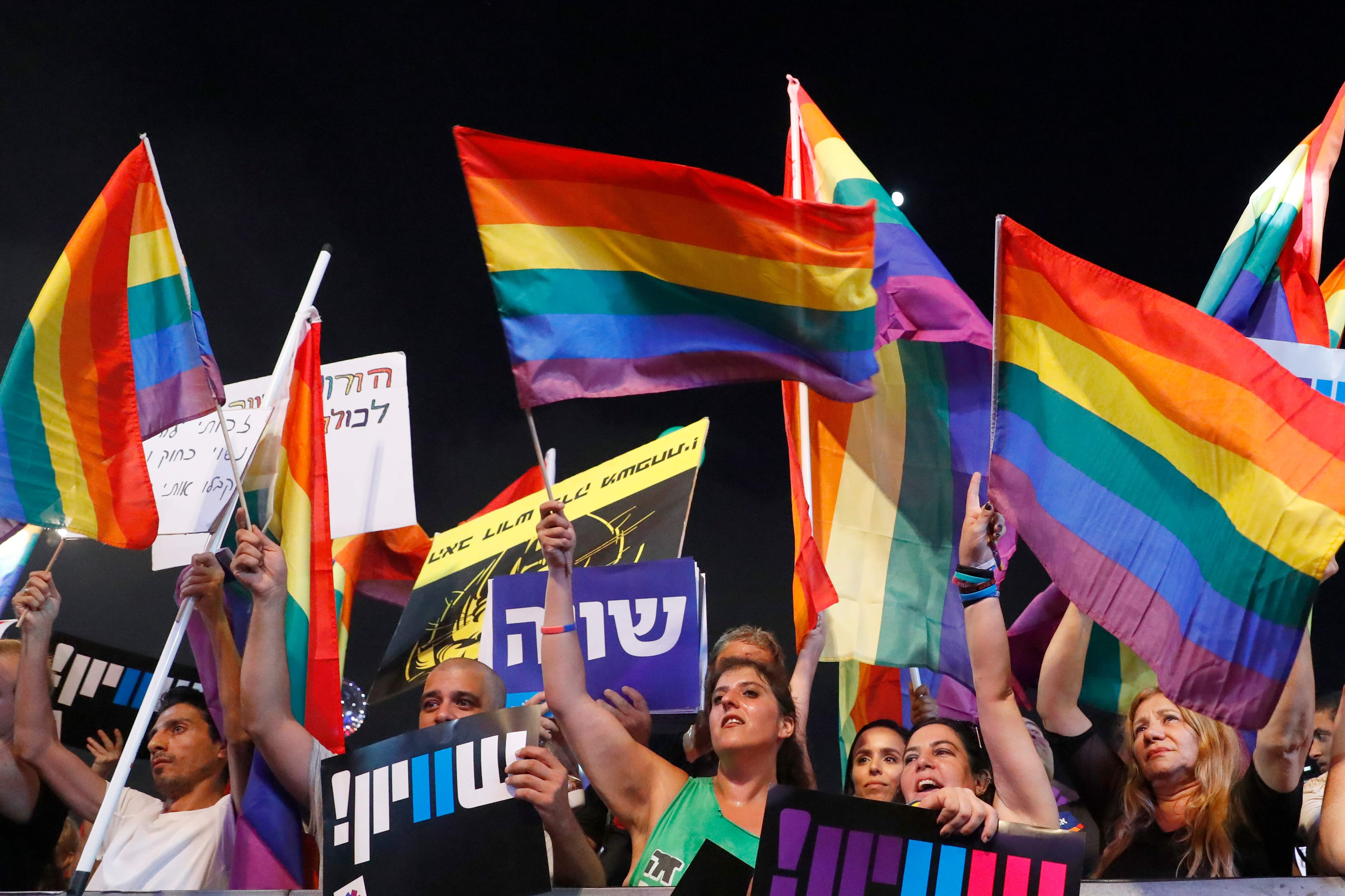 تظاهرات المثليين