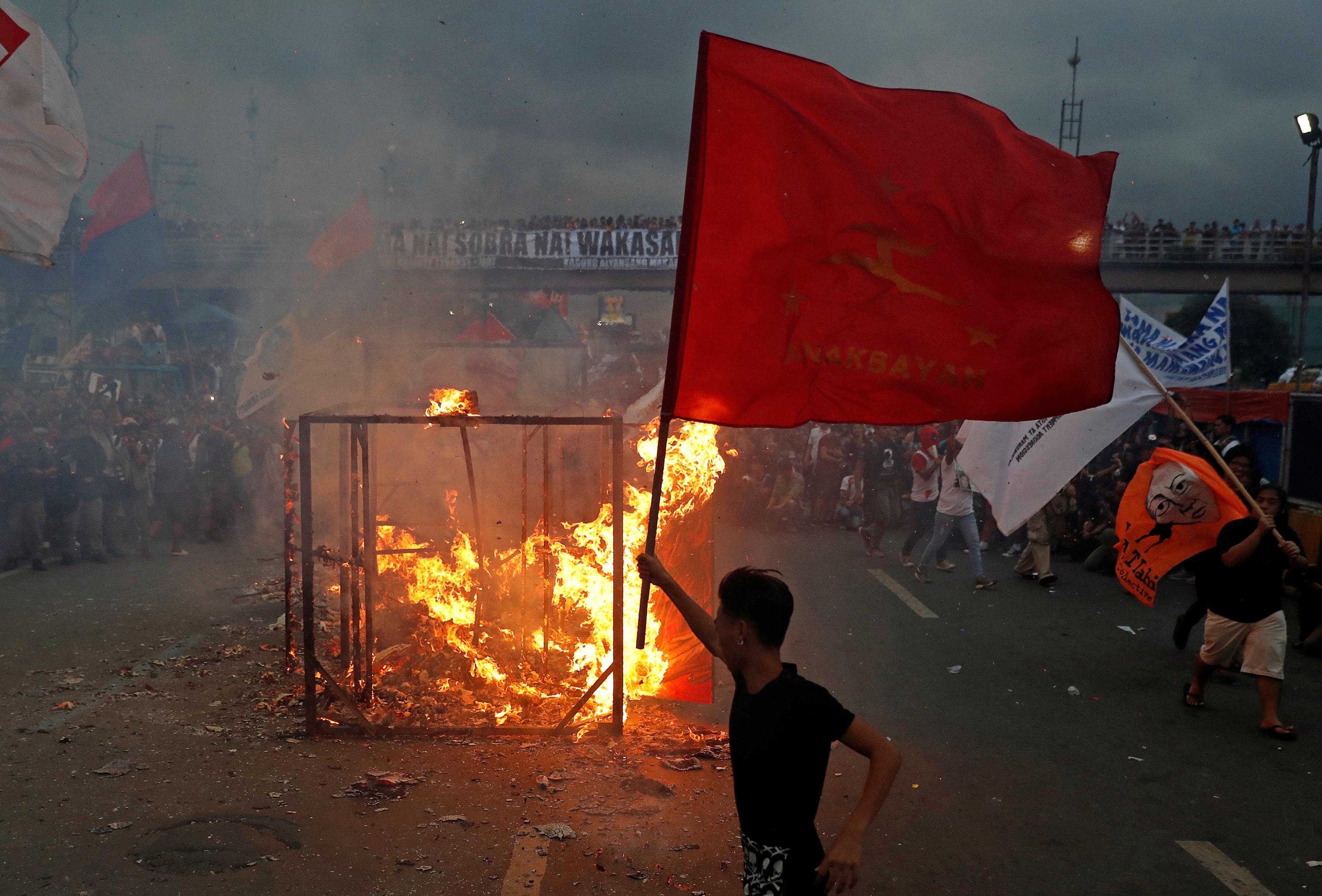 عنف فى الفلبين