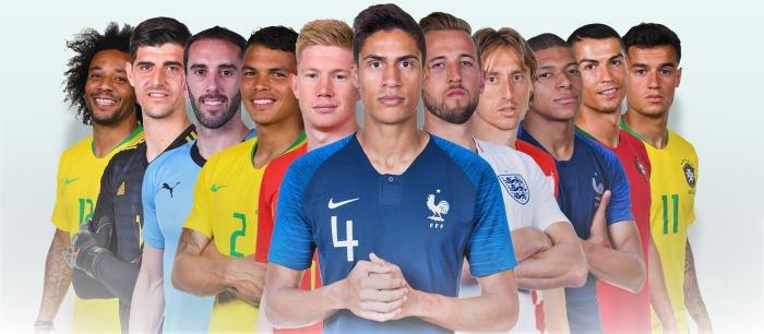 فريق الأحلام لكأس العالم 2018