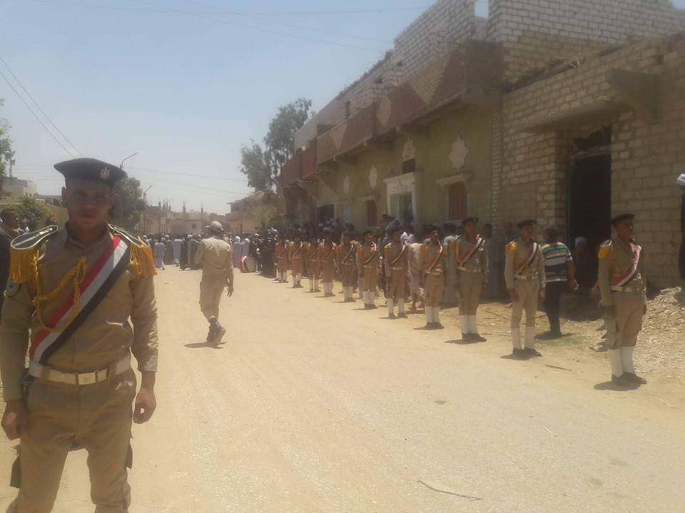 تشيع جنازة شهداء المنيا  (5)