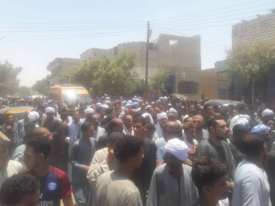 تشيع جنازة شهداء المنيا  (3)