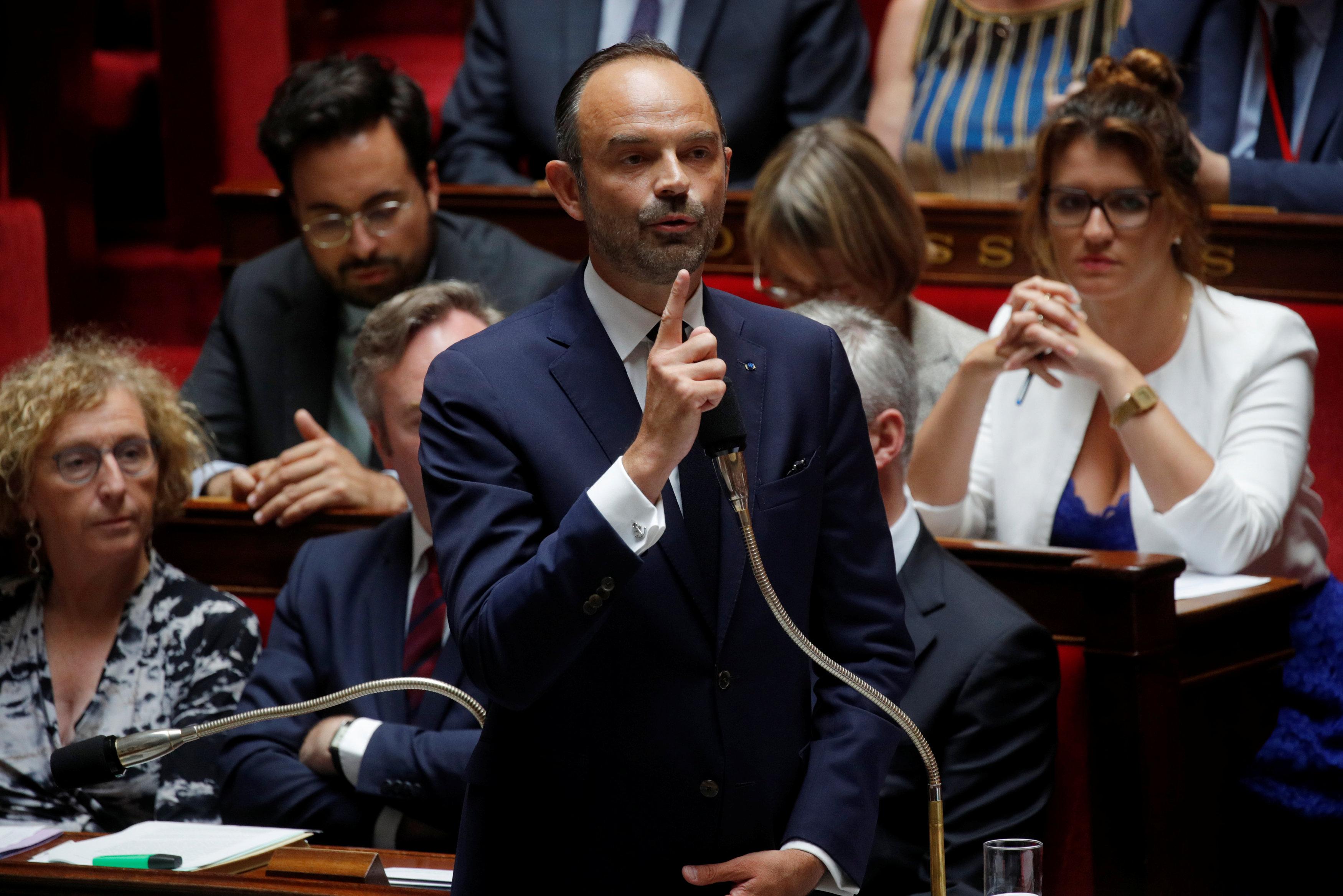رئيس الوزراء الفرنسى