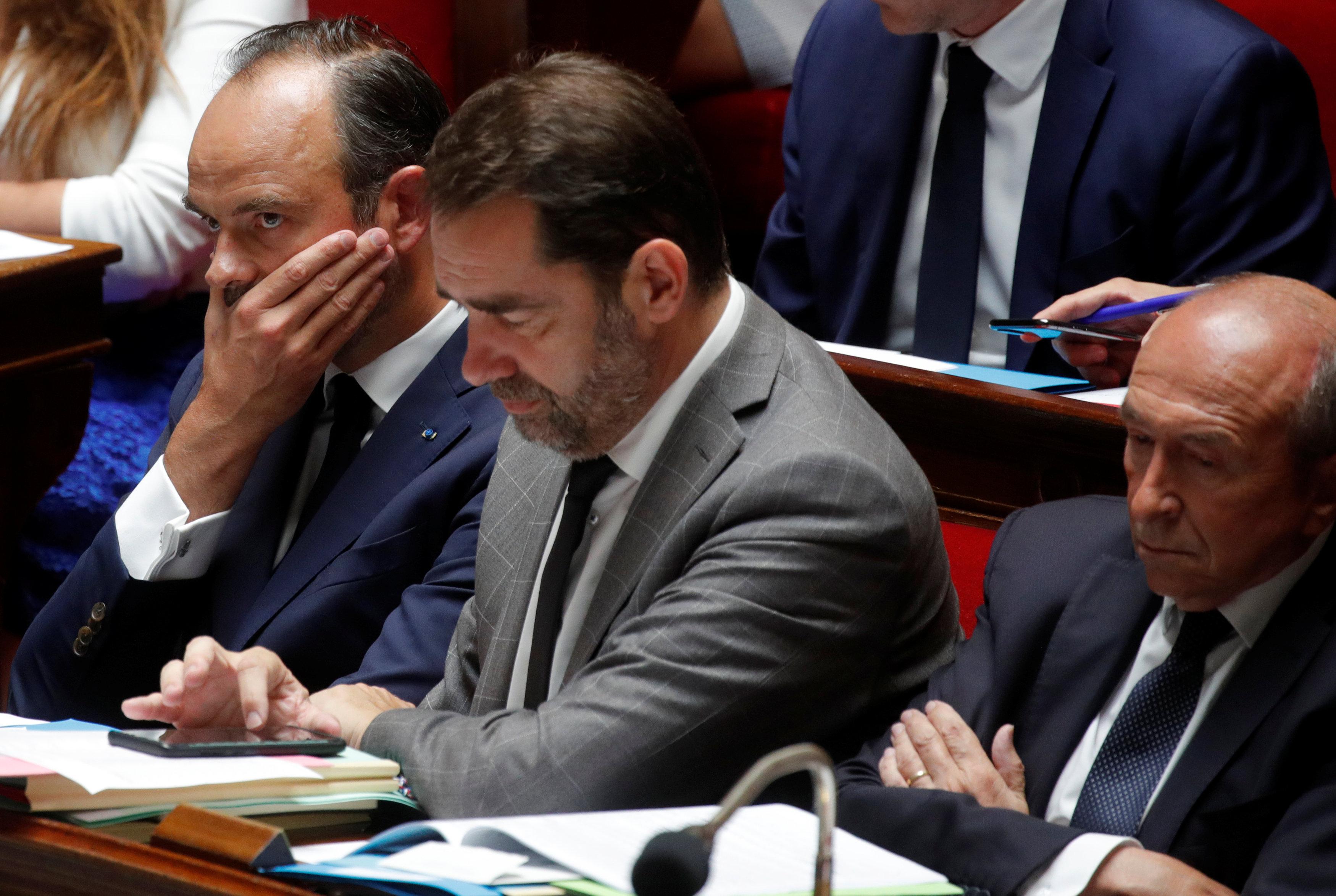 جلسة استماع لرئيس الوزراء الفرنسى بالبرلمان