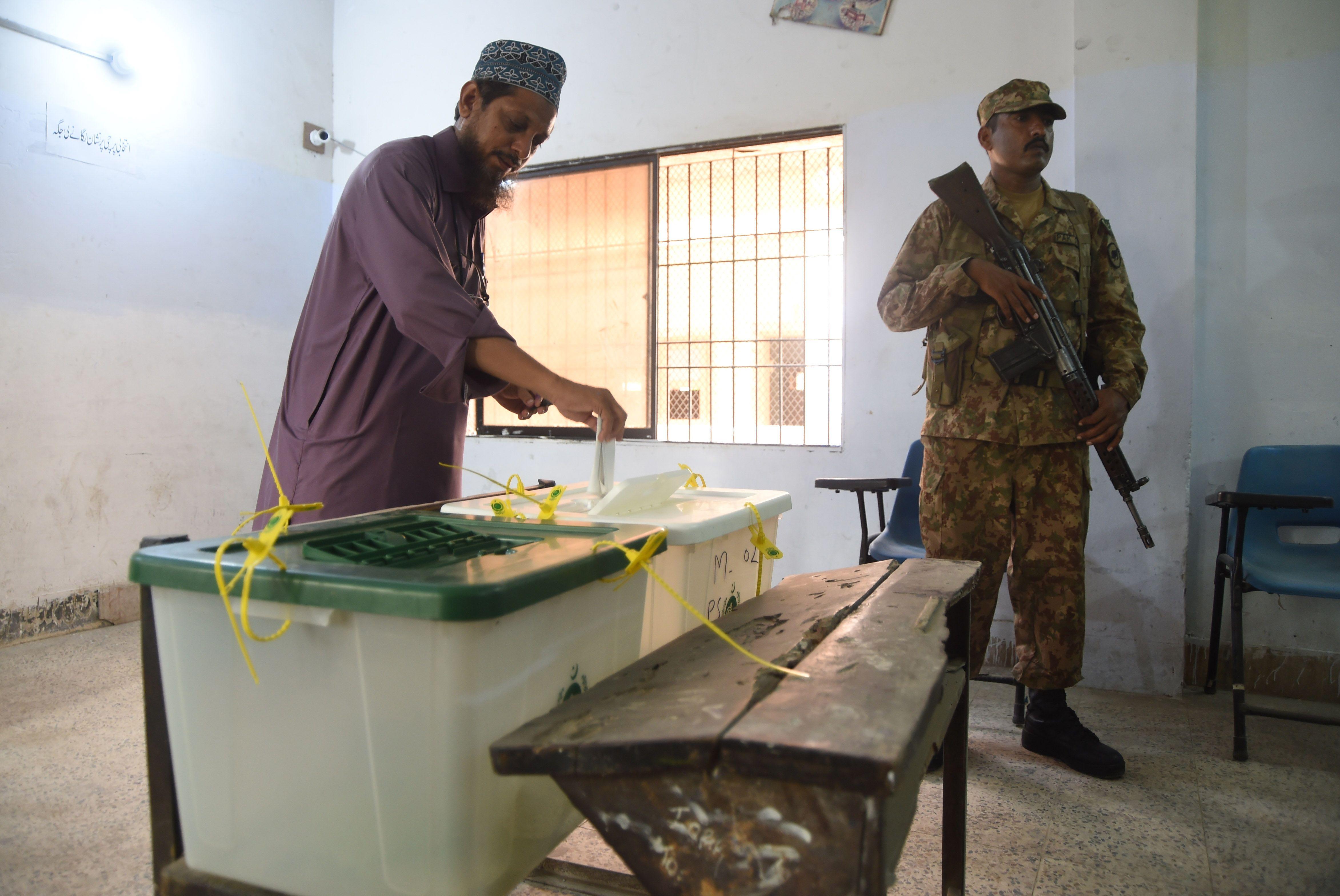 سير العملية الانتخابية