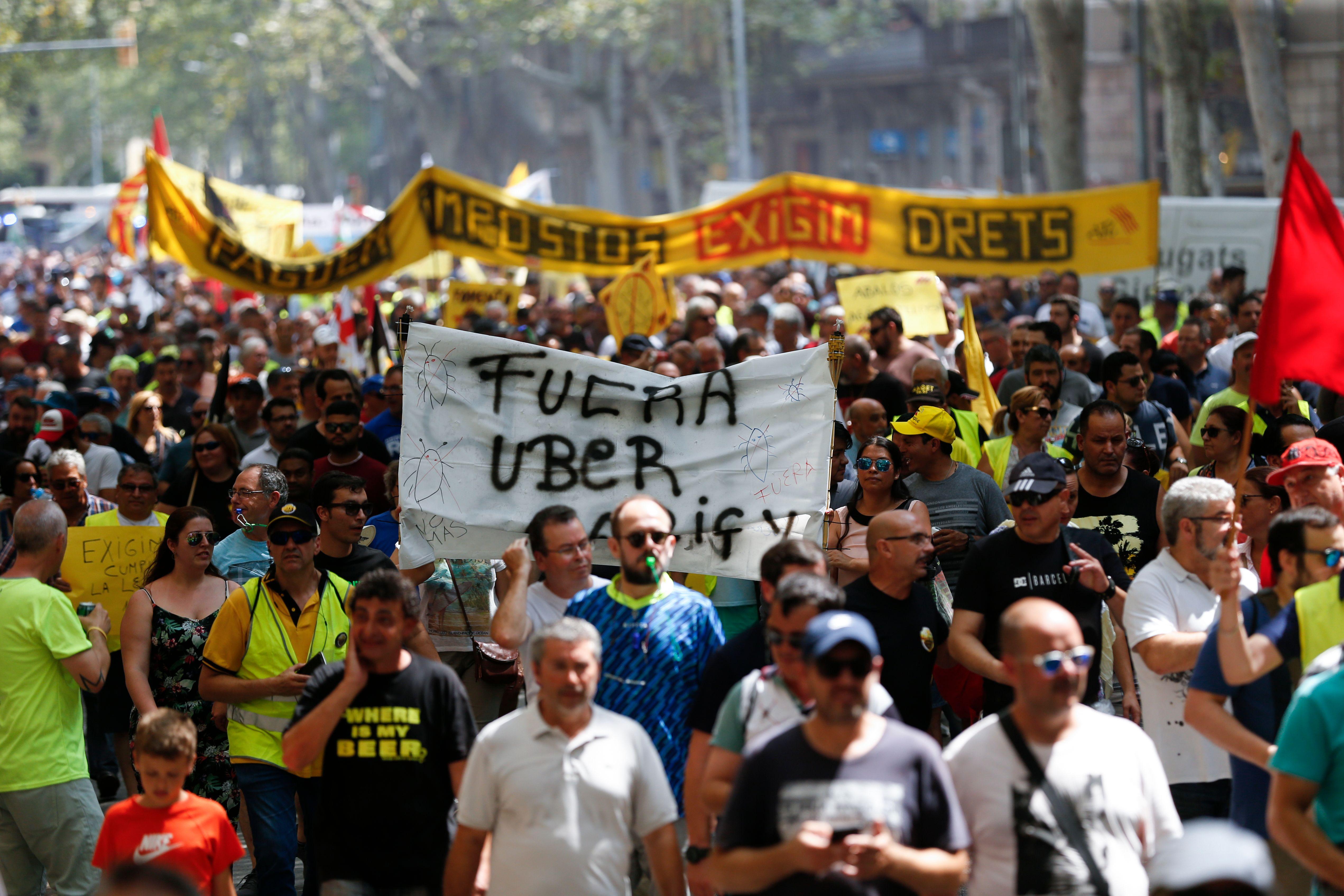 احتجاجات فى إسبانيا (2)