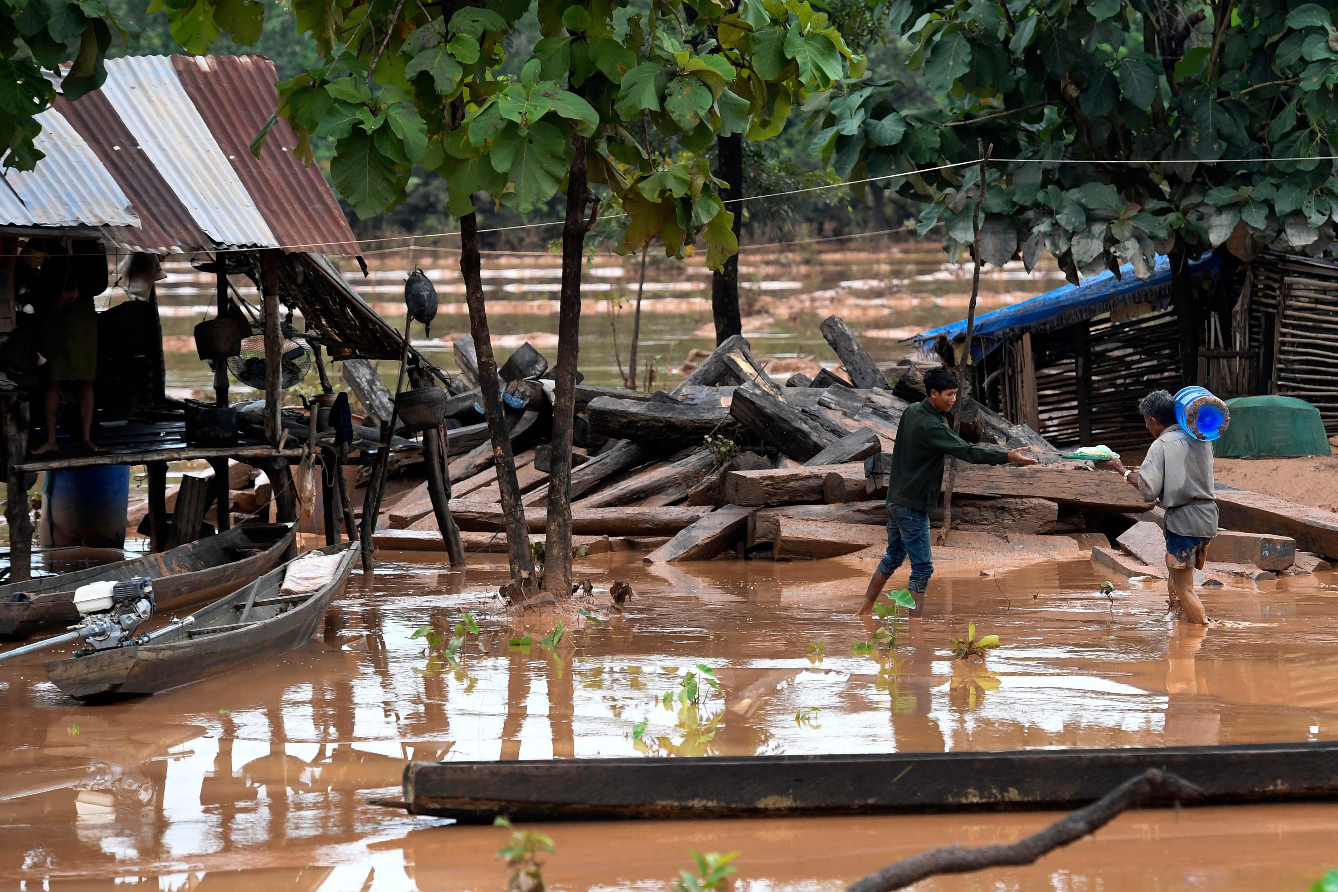 غرق القرى