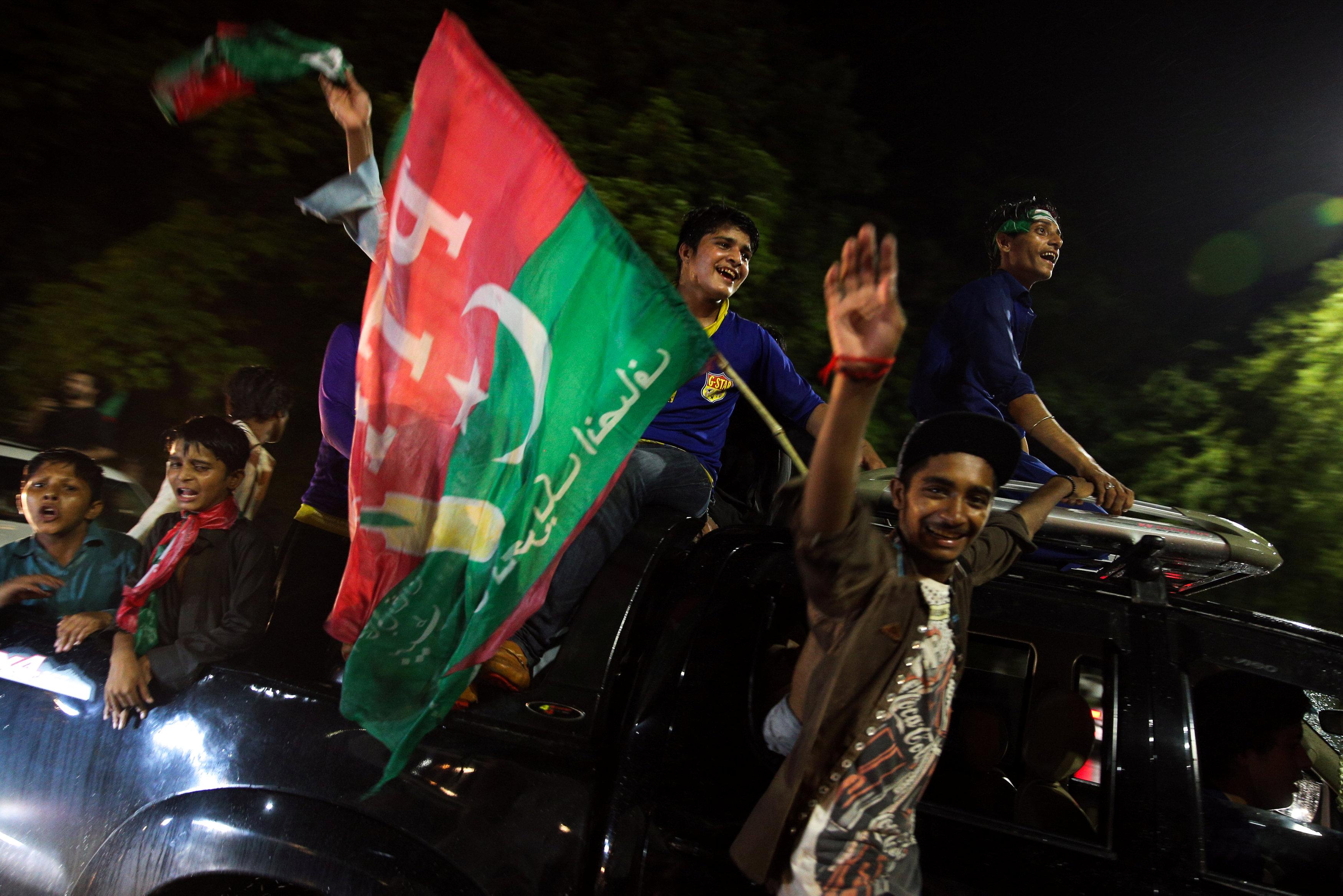 علم حزب باكستاني