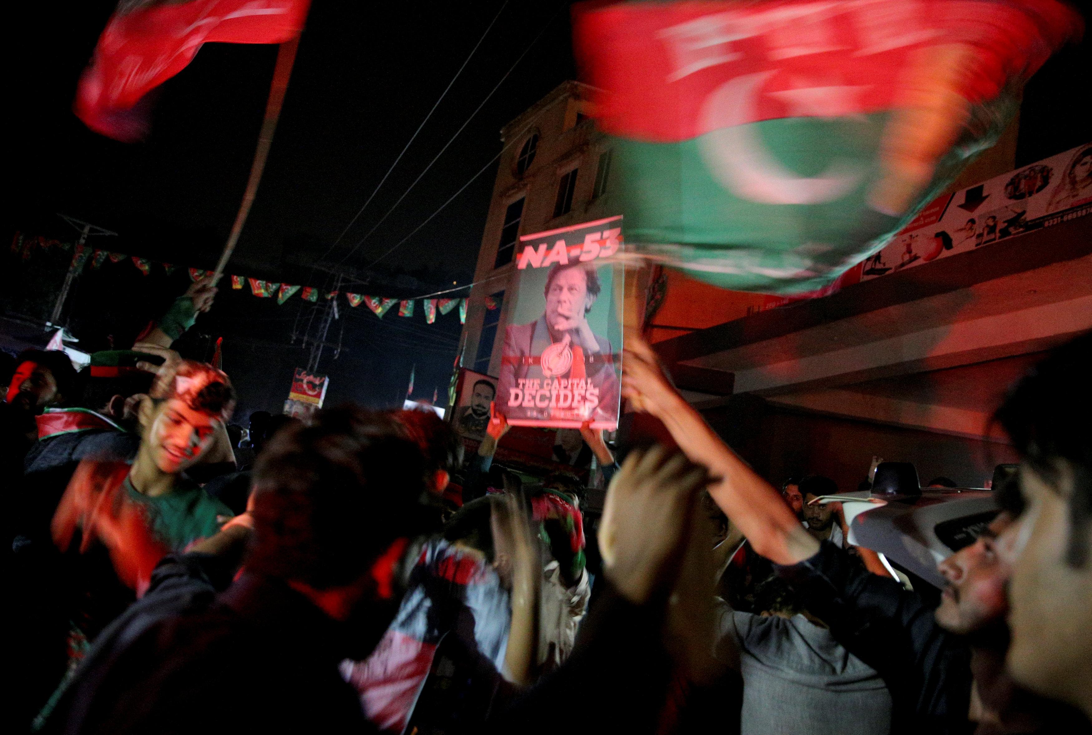 شعارات الانتخابات فى باكستان
