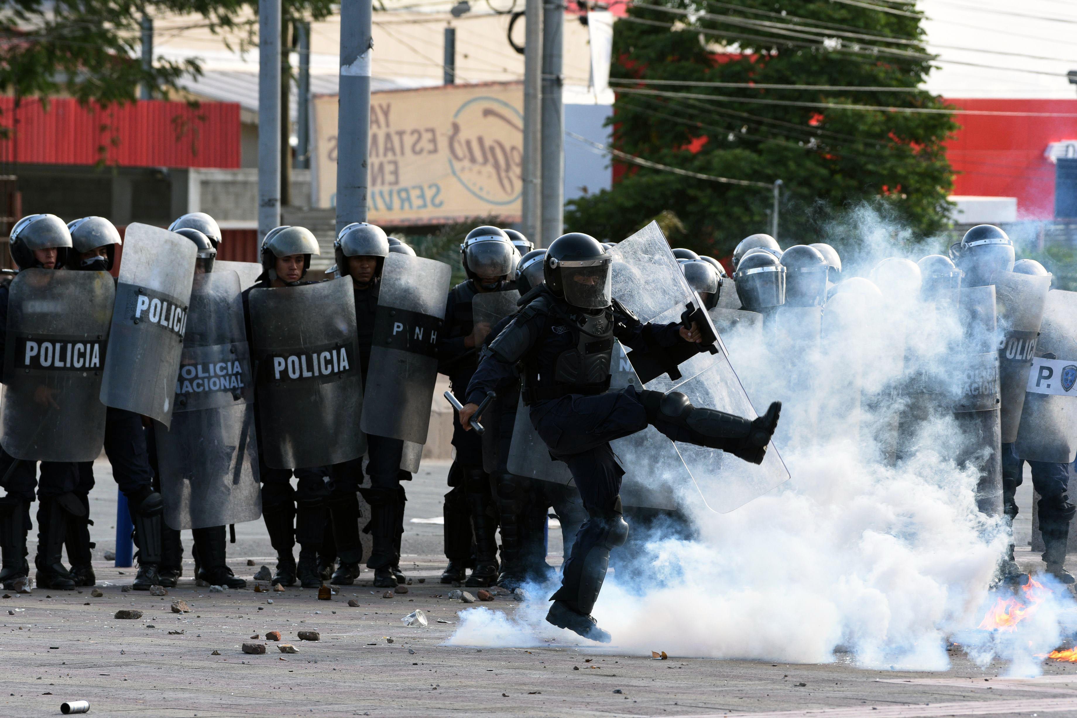 شرطة هندوراس