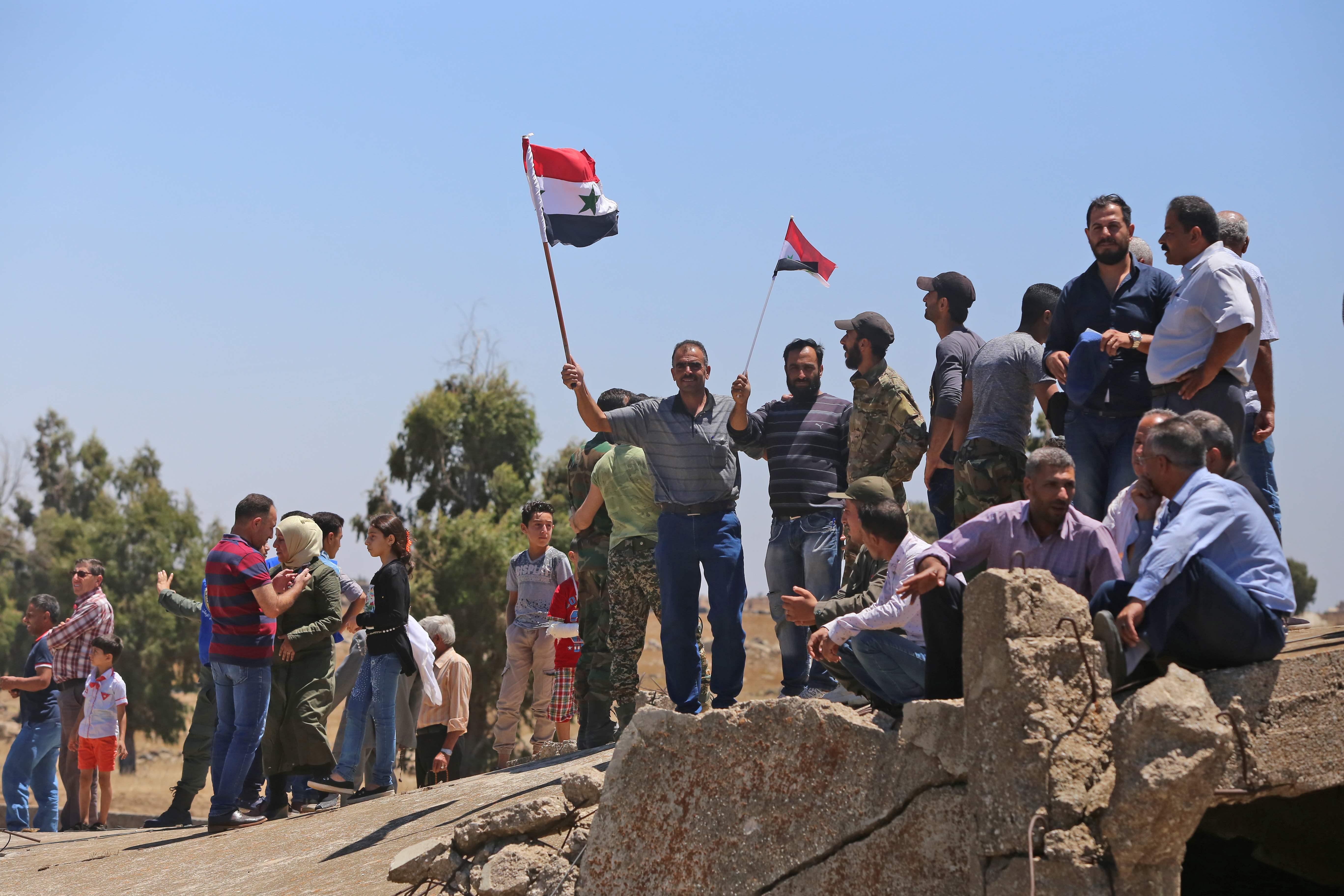 احتفالات السوريين