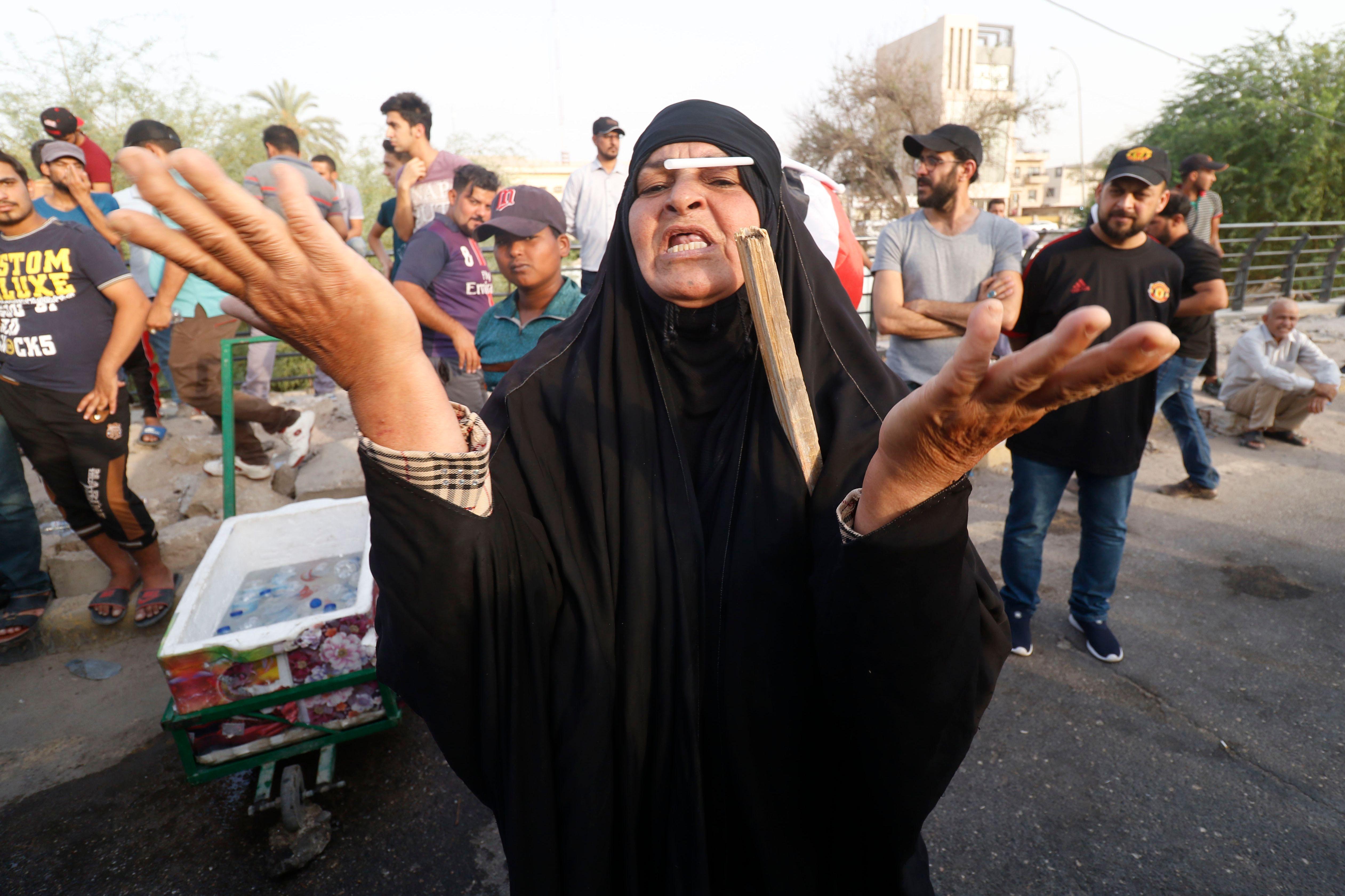 امرأة عراقية