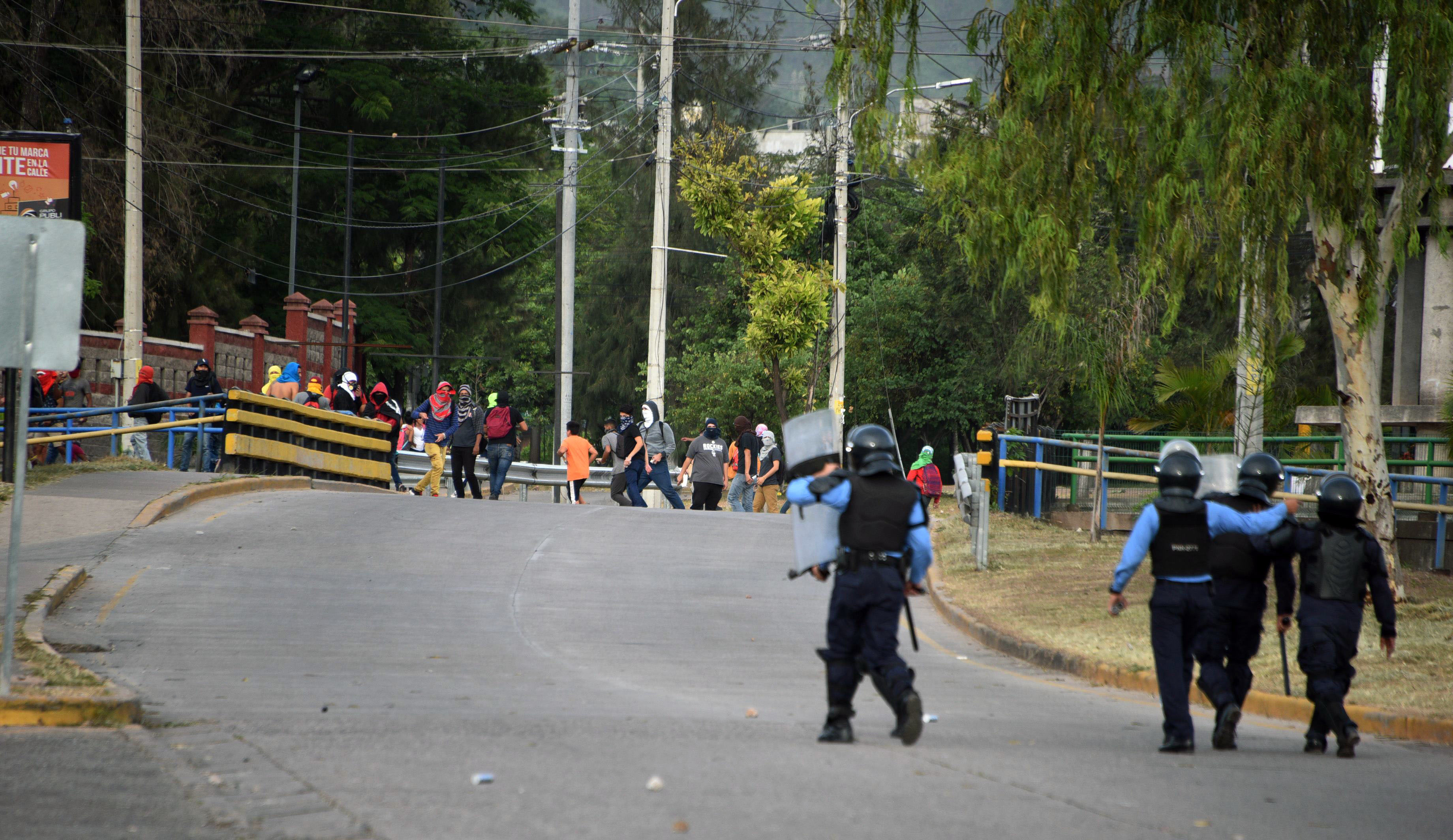 العنف فى هندوراس بسبب ارتفاع الاسعار