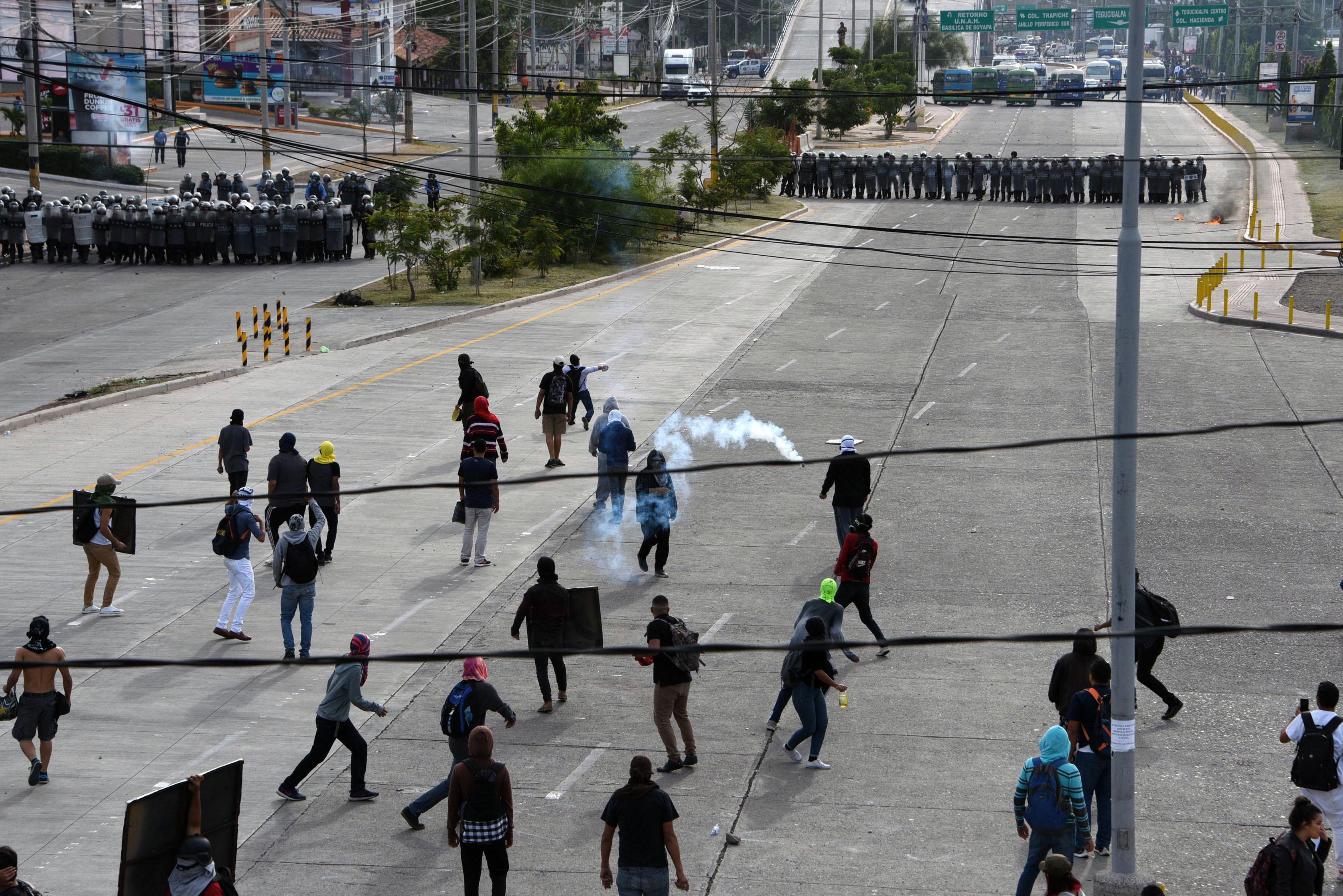 احتجاجات هندوراس