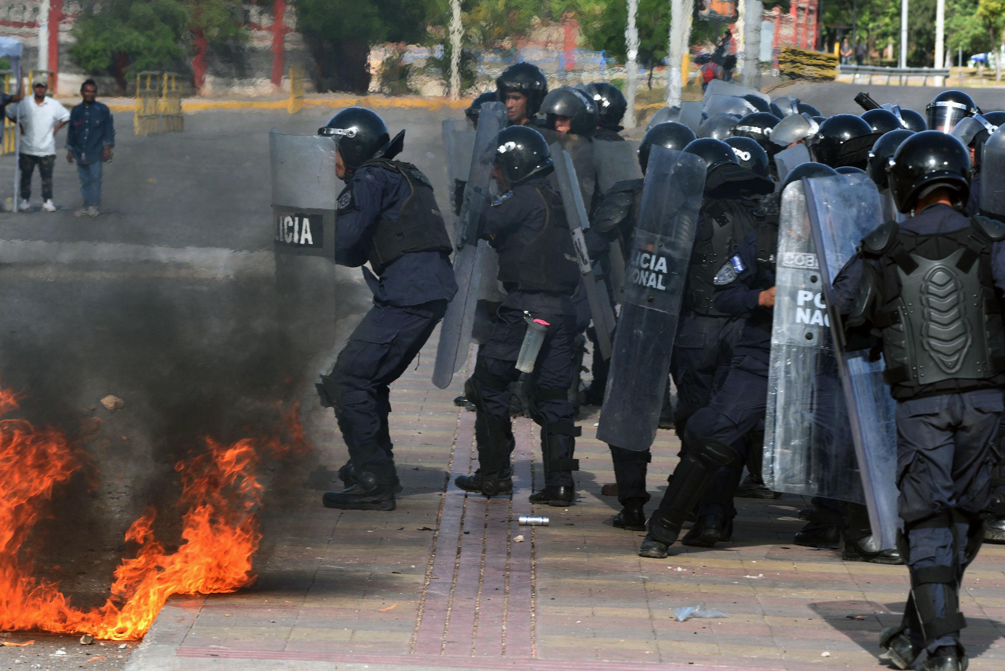العنف فى هندوراس