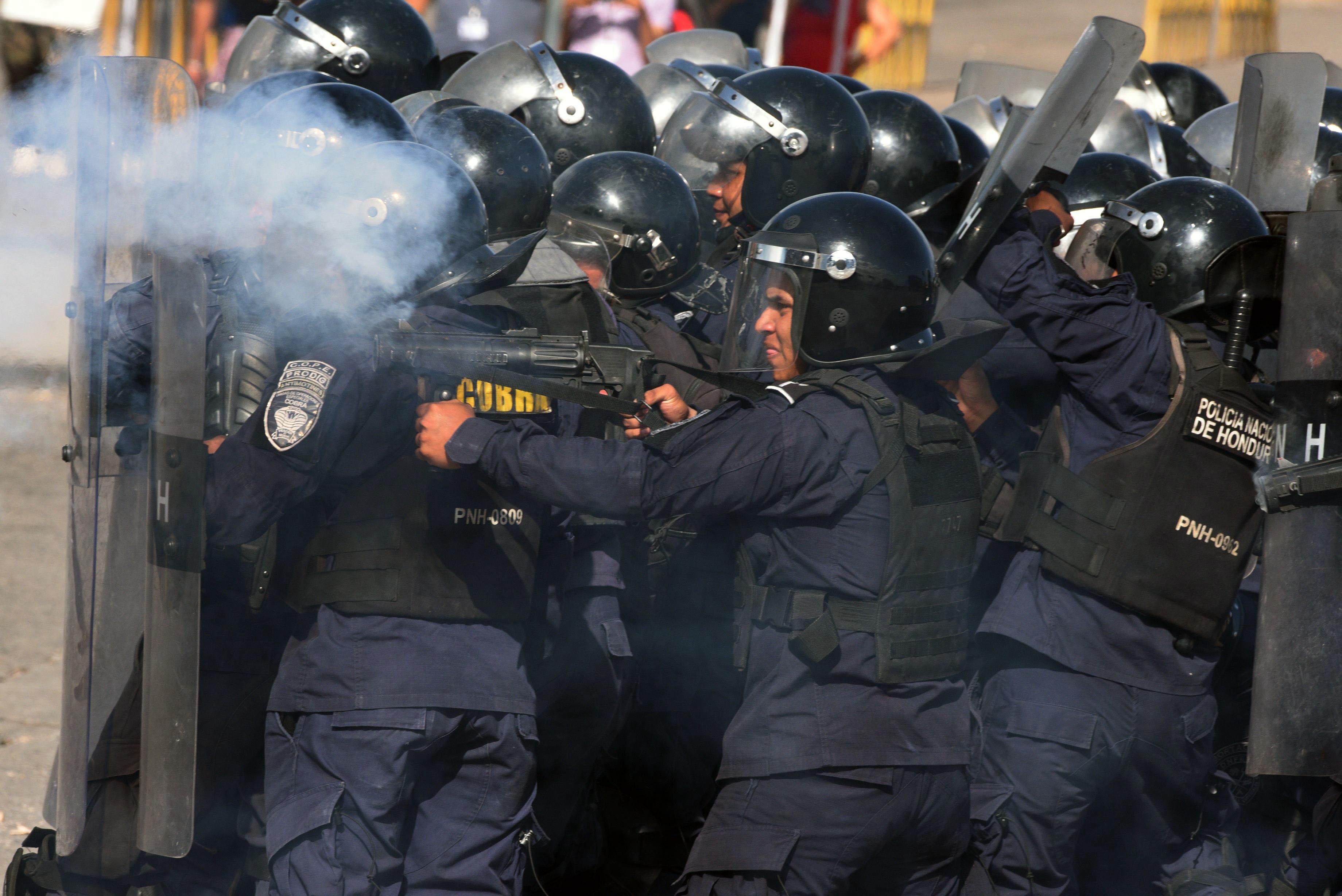 الشرطة فى هندوراس