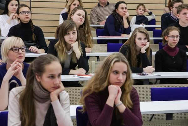 طلاب جامعة سان بطرسبورج