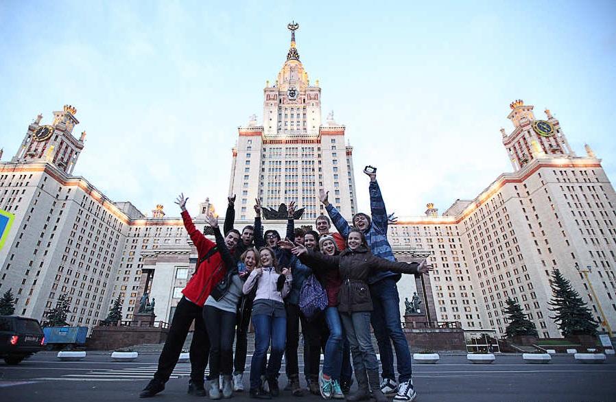جامعة موسكو الحكومية من الخارج