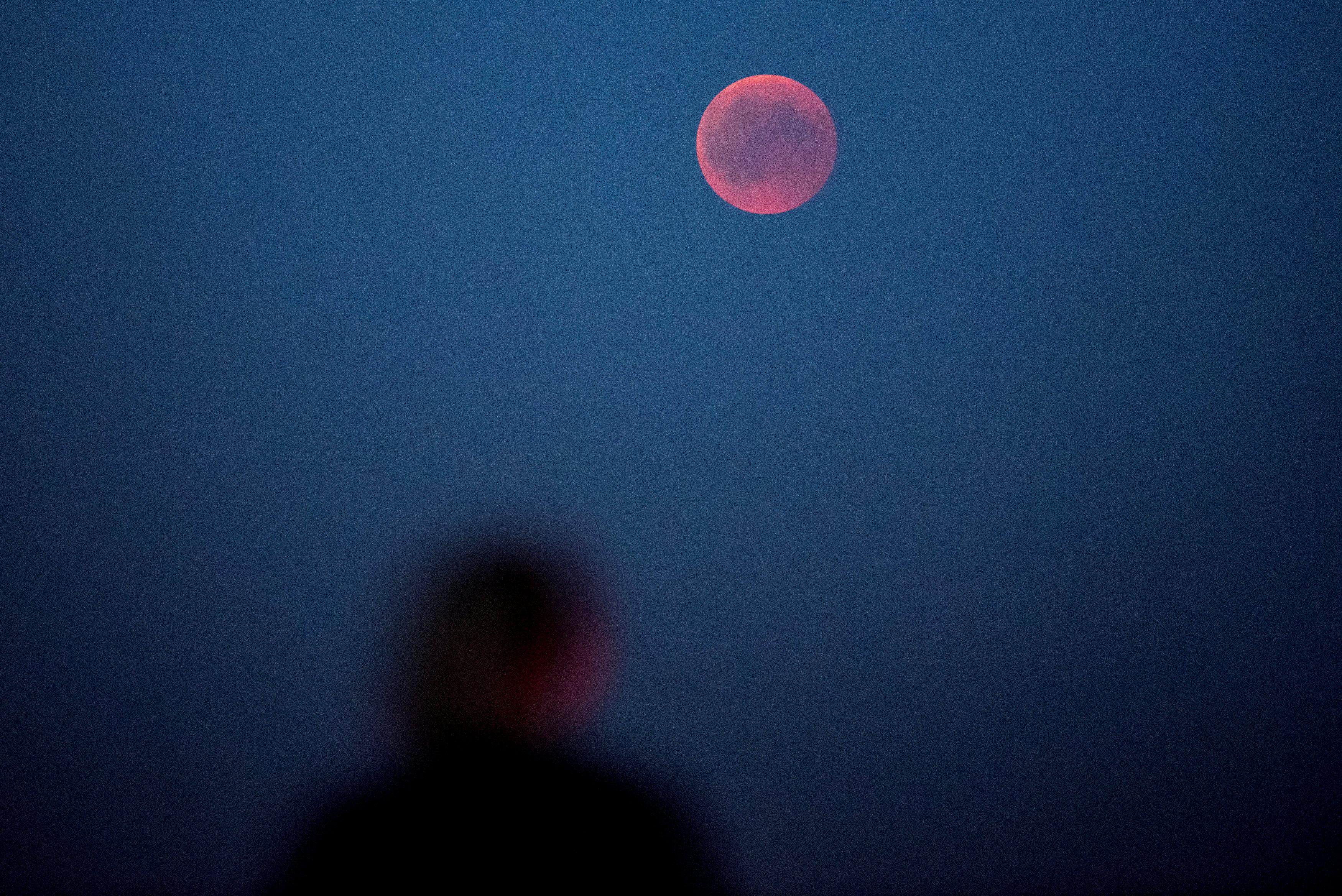 القمر فى الدنمارك