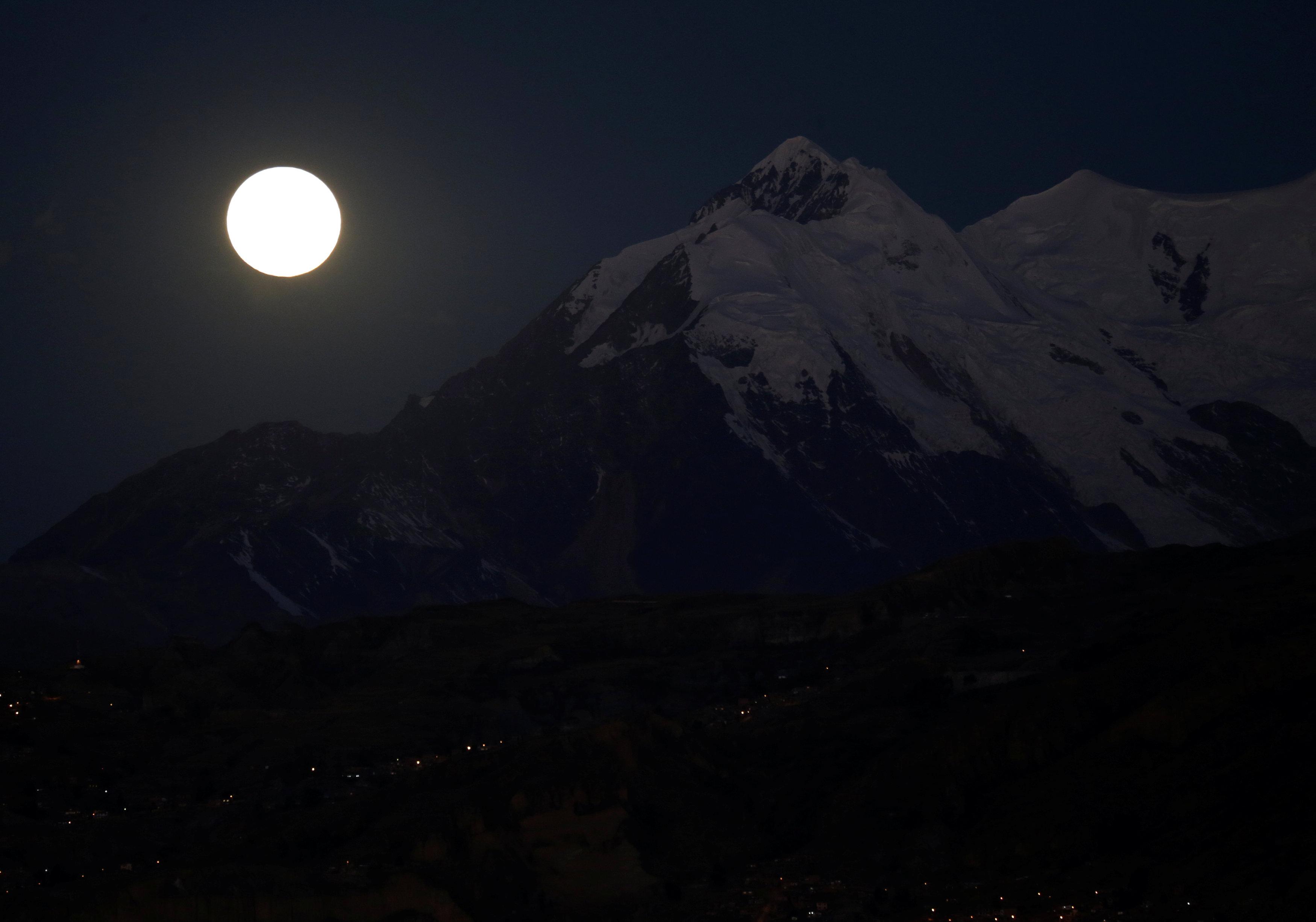 القمر فى بوليفيا