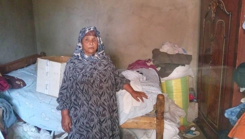 رقم 5 حجرة نوم والدة عيد وزوجها