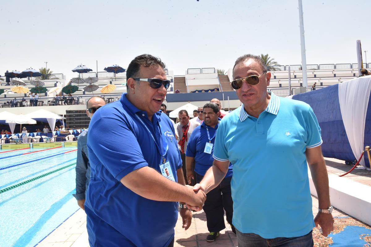 الخطيب في بطولة القاهرة للسباحة (2)