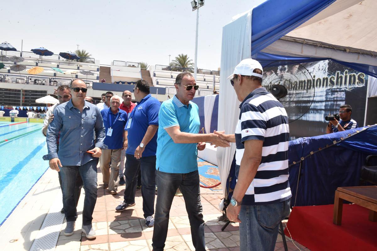 الخطيب في بطولة القاهرة للسباحة (3)